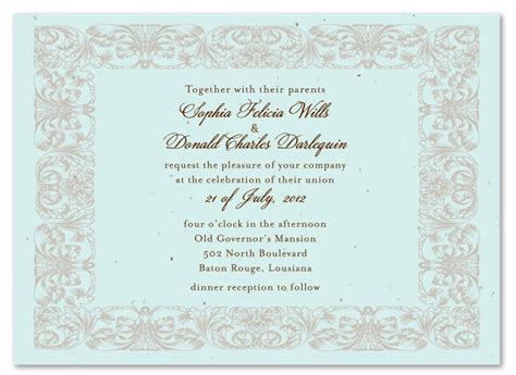 wedding ceremony and reception at different locations wedding invitation wording wedding invitation wording ceremony reception different locations