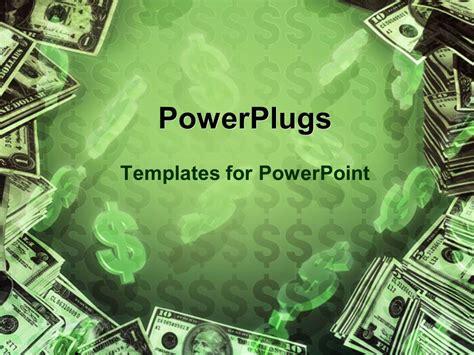 powerpoint template dollar signs  dollar bills