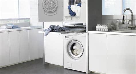 superposer seche linge sur lave linge int 233 grer un lave linge dans la salle de bains