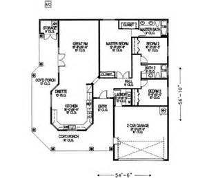 1500 square foot ranch house plans 1700 square 3 bedrooms 2 batrooms 2 parking space