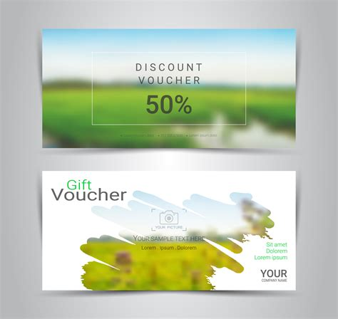 gift certificates  vouchers discount coupon  banner