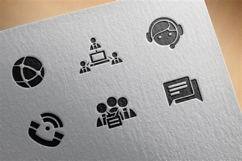 business communications icons communicationsbusiness
