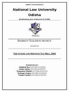 Indirect Taxation Project