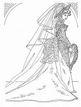 Coloring Pages Bride Exotic Barbie Princesses Spice Variety Today sketch template