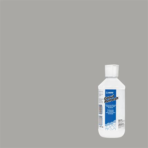 mapei silver grout shop mapei 8 oz silver grout refresh at lowes com