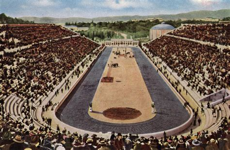Ancient Greece Olympics Game Stadiums