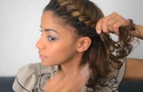 coiffure avec torsade