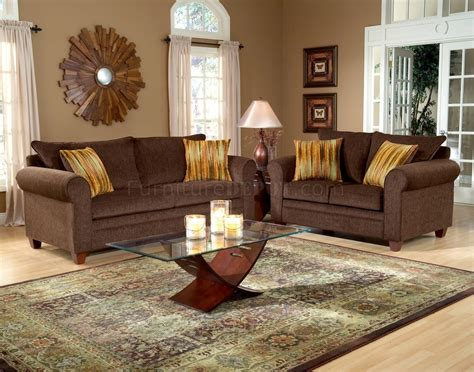 brown sofa living room decor creative design chocolate brown living room sets fabric