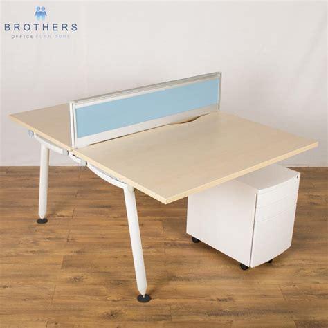 herman miller desks uk herman miller abak 1800x800 bench desk