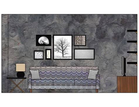 Living Room Electrical Layout by Ghostchairgal Living Room Interior Elevation I Made In