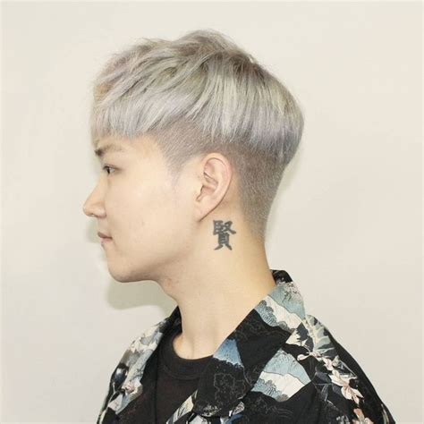 kpop hair undercut