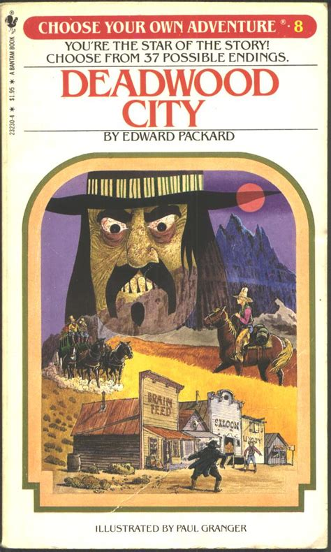 item deadwood city demians gamebook web page
