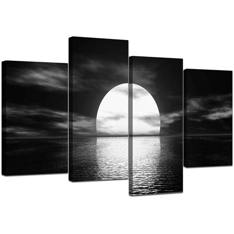 framed canvas prints for sale black and white canvas sunset canvas wall