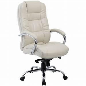 Verona, Cream, Executive, Leather, Office, Chairs