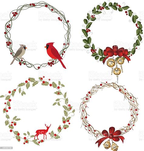 Christmas Wreath Svg Free Download  – 200+ Best Quality File