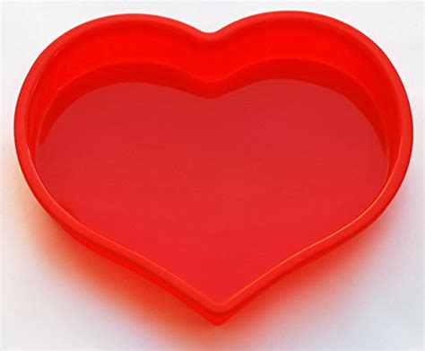 heart cake shaped mold pan silicone pans bakeware food fda grade