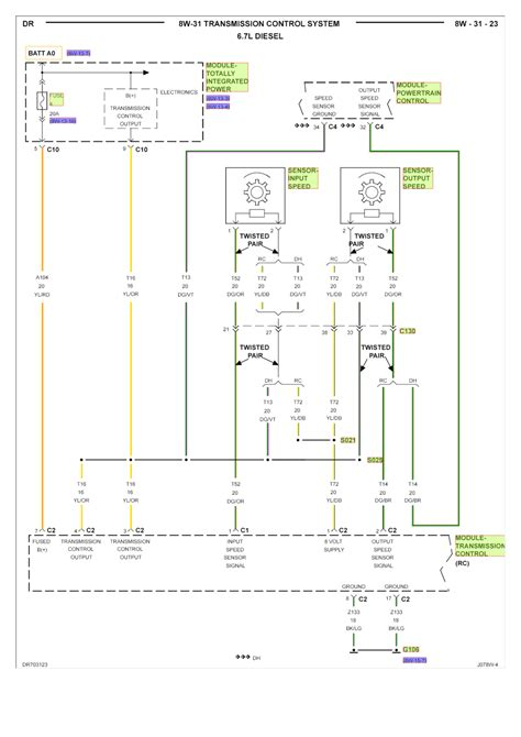 2008 Dodge 3500 Wiring Diagram by Repair Guides Transmission System 2007