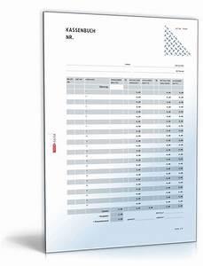 Einnahmen Ausgaben Rechnung Verein : kassenbuch im hochformat formular zum download ~ Themetempest.com Abrechnung