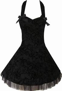 details about pretty rockabilly black goth tattoo 50s With robe noire enfant
