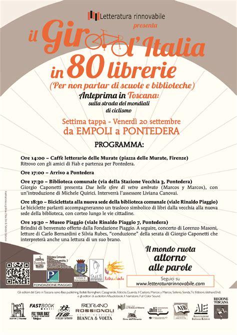 Librerie Pontedera by In Bicicletta Dalla Vecchia Alla Nuova Biblioteca