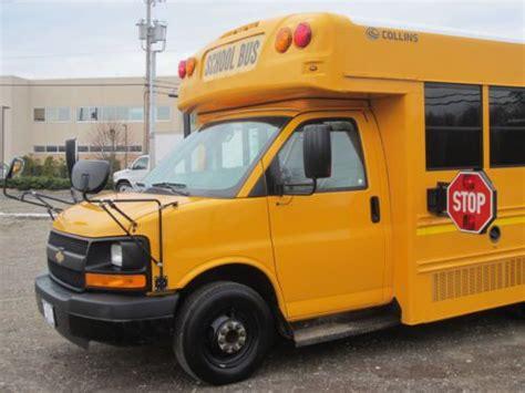 sell  collins grand bantam  passenger school bus