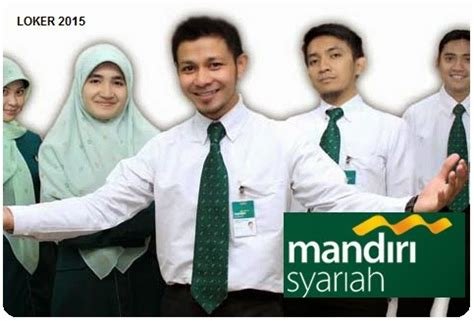 lowongan kerja terbaru bank mandiri syariah