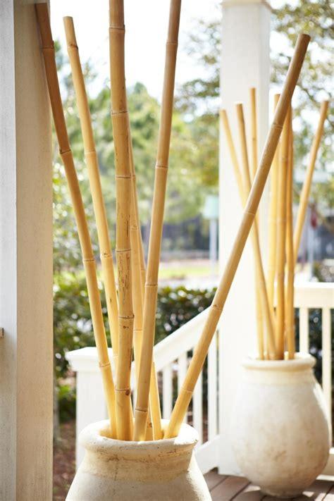 bambus deko ideen die fuer eine organische aesthetik sorgen