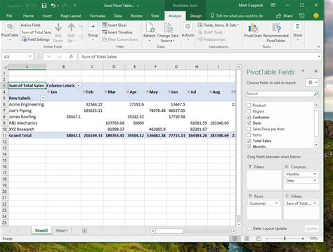 how to make a pivot table how to create a pivot table in excel to slice and dice