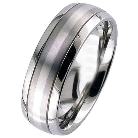 Platinum & Titanium Wedding Ring  Titanium Rings  Suay. Vanadinite Gemstone. June 20 Gemstone. Video Game Gemstone. Antique Store Gemstone. Gray Stone Gemstone. Lithium Gemstone. Heavily Included Gemstone. Huggie Gemstone