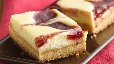 strawberry cheesecake bars recipe bettycrockercom