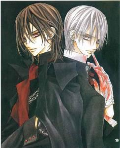Zero Kiryu & Kaname Kuran - Vampire Knight Anime | Vampire ...