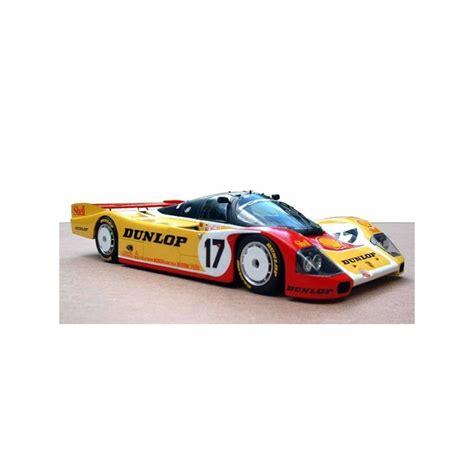 Porsche 962c brun larrauri pareja 24h le mans 1990 repsol 1/43 spark s1916. 1/43 Porsche 962 C Shell Dunlop Le Mans 1988 Profil 24 ...