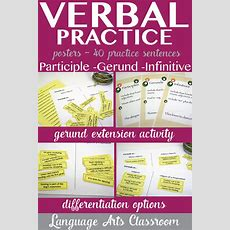 Verbals Gerunds, Infinitives, Participles Worksheet And Scramble  Worksheets, Sentences And