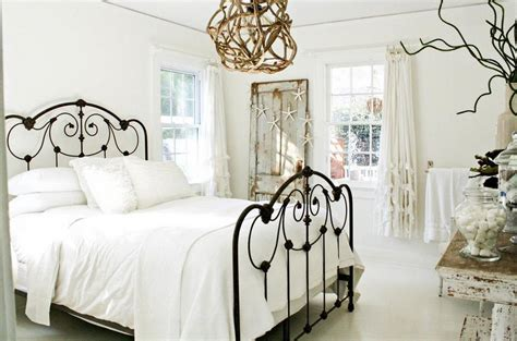 Sophisticated Rustic White Bedroom Furniture