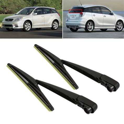 repair windshield wipe control 2005 toyota matrix lane departure warning durable black car replacement part new automobile windshield rear wiper arm blade set for