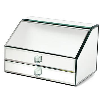 mirrored glass jewelry box mirrored jewelry box unique jewelry storage z gallerie 7534