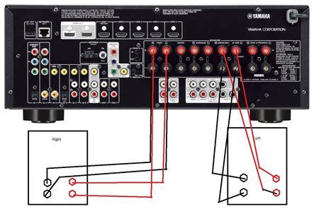 how to bi wire speakers diagram wiring diagram for speaker