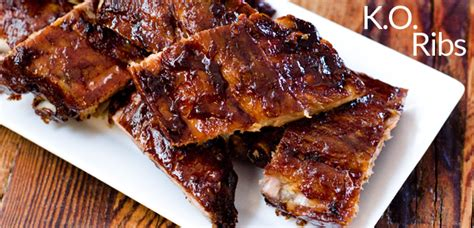 rack of ribs try our k o ketchup rack of ribs recipe