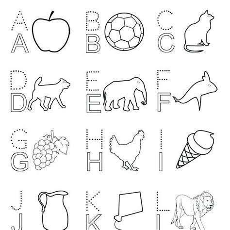 alphabet drawing book  getdrawings