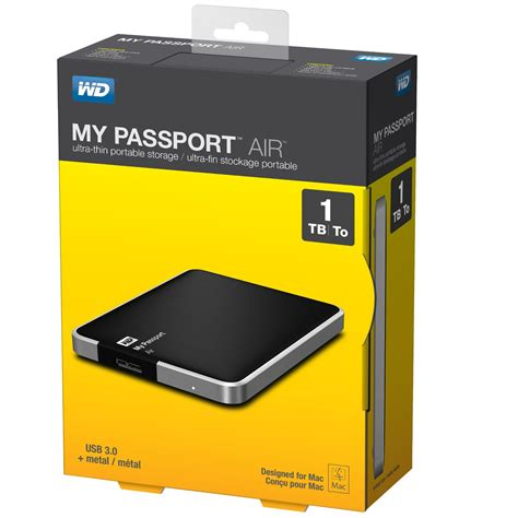 Jual Hardisk Wd 2 5 Quot wd my passport air 1tb portable external drive