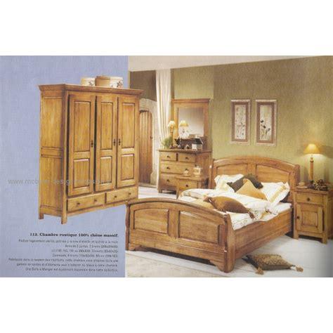 lambermont chambre chambre rustique en chêne massif lambermont