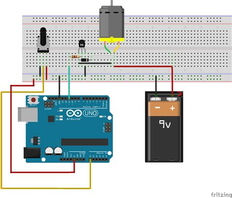 controlling renewable energy systems arduino  dc motor