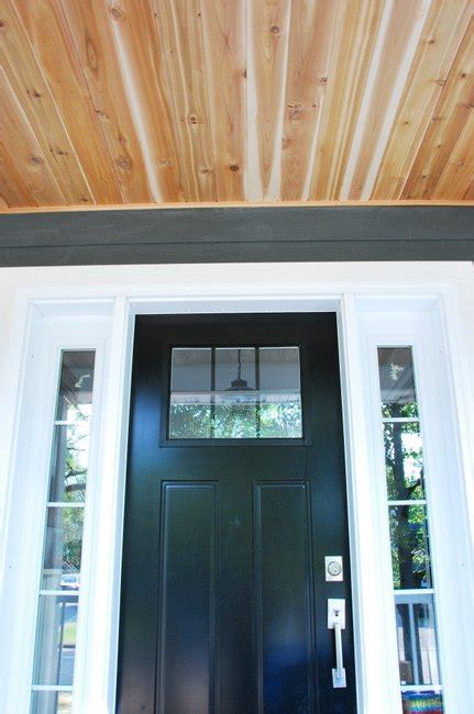 hometalk    diy cedar lined porch ceiling