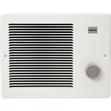 broan 174 wall heater 750 1500 watt 120 vac white painted grille induction cooktops
