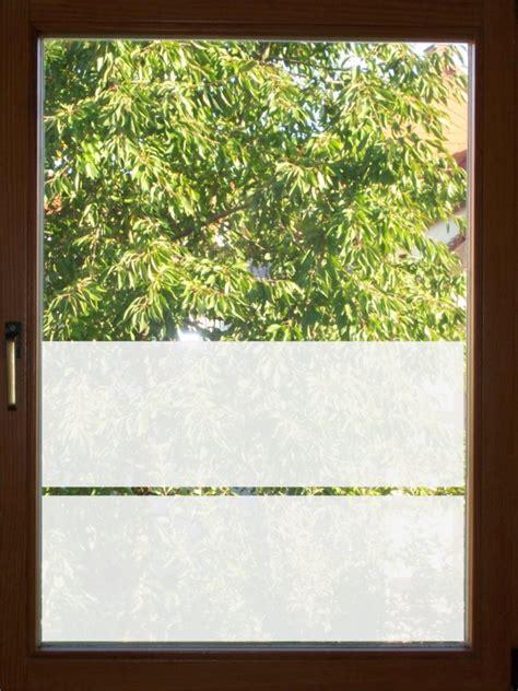 Sichtschutz Folie Fenster Streifen by Fensterfolie Aufkleber 2 Streifen Sichtschutz Folie