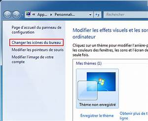 Activer Dsactiver Icnes De Bureau Windows 7