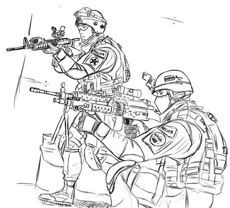 printable army coloring pages  kids