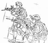 Coloring Army Printable sketch template