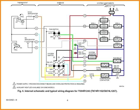 goodman furnace thermostat wiring diagram free wiring