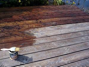 Holzterrasse mit terrassenol schutzen heimwerker aktuellde for Terrassenöl